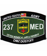 ARMY 237TH MEDICAL DUSTOFF DMZ MOS EMBROIDERED PATCH - $16.24