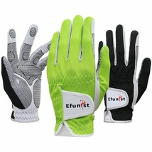 Men Golf Gloves 1 PC Mesh Non Slip Glove For Left Hand Breathable Micro ... - $11.80