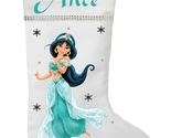 Princess Jasmine Christmas Stocking - Personalized Princess Jasmine Stocking - €23,94 EUR