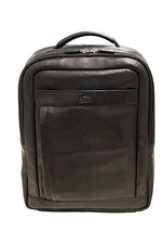 "NEW MANCINI LEATHER RFID SECURE 15.6"" LAPTOP TABLET BUSINESS BACKPACK BLACK - $233.87 CAD"