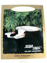 Hallmark Keepsake Ornament Magic Star Trek Next Generation U.S.S Enterpr... - $9.85