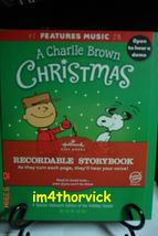Hallmark 2011 A Charlie Brown Christmas Peanuts Gang Recordable Story Bo... - $89.99