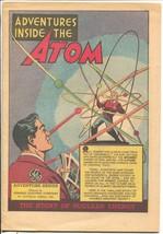Adventures Inside The Atom 1948-GE-Einstein-atomic energy-sci-fi panel-FN- - $37.83