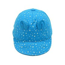 Cap Baby Hat Sunscreen Breathable Baby Cuff Cotton Baseball Cap Visor image 2