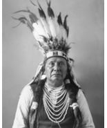 Chief Joseph Perce Vintage 8X10 BW Native American Memorabilia Photo - $6.99