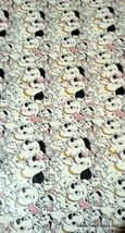 101 Dalmatians Dogs Wrapping Paper Sheet Gift Book Cover Birthday x2 Par... - $12.82