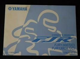 Yamaha Owners Manual Book FJR1300T(C)  FJR1300AT(C)  - $18.66