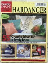Burda Special Hardanger Magazine Issue #E524  Brand New Embroidery - $2.80