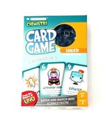 Basher Science Chemistry Card Game Battle & Match w/ Science Facts 2 Gam... - $9.46