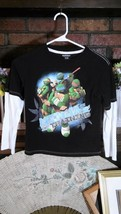 NICKELODEON Child's Shirt NINJA TURTLES Sz 7 Cotton Multi Color Long Sle... - $8.58