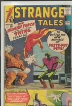Strange Tales #124 ORIGINAL Vintage 1964 Marvel Comics Thing + Human Torch Begin - $98.99