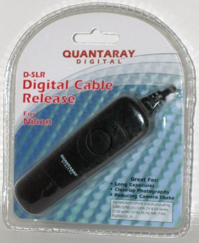 Quantaray Dslr Digital Cable Release F/ Nikon D300/d700/d3