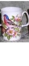 ROSE OF ENGLAND BIRD Lancaster Fine Bone China Mug 10 OZ. MADE IN ENGLAN... - $19.90