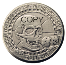 Hobo Nickel 1937-D 3-Legged Buffalo Nickel Rare Creative skull zombie Co... - $7.99