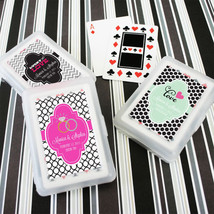 200 Personalized Themed Playing CARDS Birthday Bridal Wedding or Party Favor - $178.55