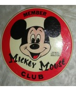 Vintage Disney Mickey Mouse Club Pin Back Button - $9.89