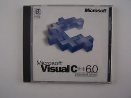 Microsoft Visual C++ Version 6.0 - Standard Edition CD - $56.72