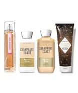 4 Pc Bath & Body Works Champagne Toast Set- Lotion, Mist, Shower Gel and... - $38.75