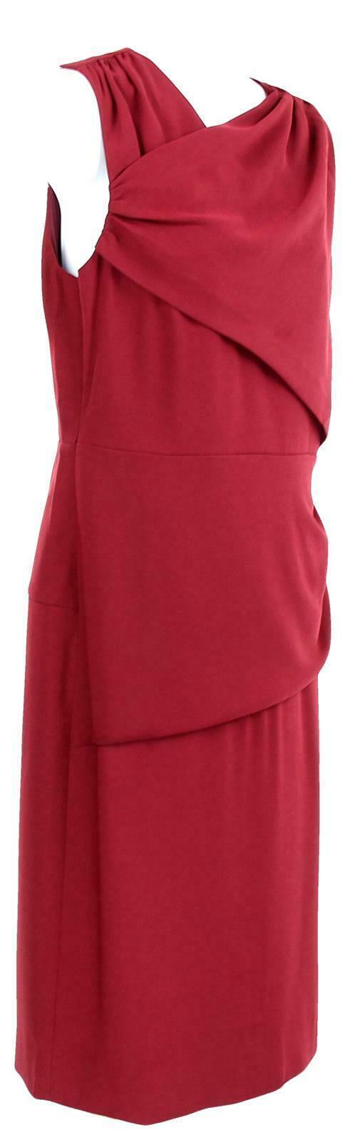 J Crew Women's High Neck Sheath Dress Everyday Lucky Crepe Wear to Work 8 J7452 image 2