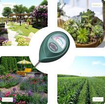 XLUX T10 Soil Moisture Sensor Meter - Soil Water Monitor, Hydrometer for... - $23.00