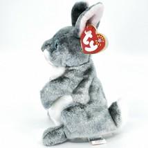 2000 Ty Beanie Baby Hopper the Bunny Rabbit Retired Beanbag Plush Doll Toy image 2