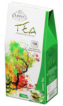 Lions Tea Pure Ceylon Green Tea Loose Leaf, 100 g - $8.50