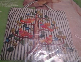 """PARAGON 0436 Jacobean Tree Tote Bag Kit 20"""" x 15"""" Needlecraft Creative S... - $107.10"""