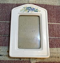 Vintage BURNES OF BOSTON Small PORCELAIN Free Standing Table Top PHOTO F... - $6.25