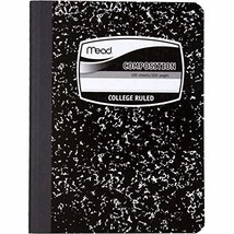 Mead Composition Book/Notebook, College Ruled Paper, 100 Sheets (09932) - $12.95