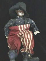 """Daddy*S Long Legs """"Peanut"""" 11"""" Rodeo Clown Doll- #DL34H -LE- New- 1994-Retired - $59.99"""