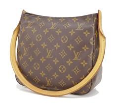 Authentic LOUIS VUITTON Looping MM Monogram Shoulder Tote Bag Purse #29680 - $459.00