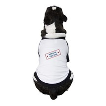 Born In The USA Pet Raglan Shirt Small Dog Gifts For 4th Of July - $19.99