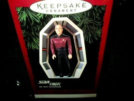 Hallmark Keepsake Star Trek Captain Jean-Luc Picard Keepsake Ornament 19... - $11.83