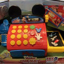 New Disney Junior Mickey Mouse Clubhouse Cash Register 10 Pieces Playset... - $14.55