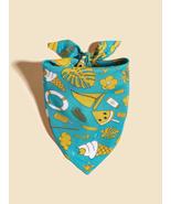 Ice Cream Print Bandana, Dog bandanas, Cat bandanas, Pet gifts, Pet birt... - $10.60