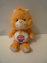 "Care Bear 8"" Orange Bear Birthday Cupcake plush Stuffed Toy 20th Annive... - $12.87"