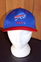 Team NFL Buffalo Bills Snap Back Hat Cap Blue Vintage New York - $12.34