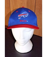 Team NFL Buffalo Bills Snap Back Hat Cap Blue Vintage New York - $12.34