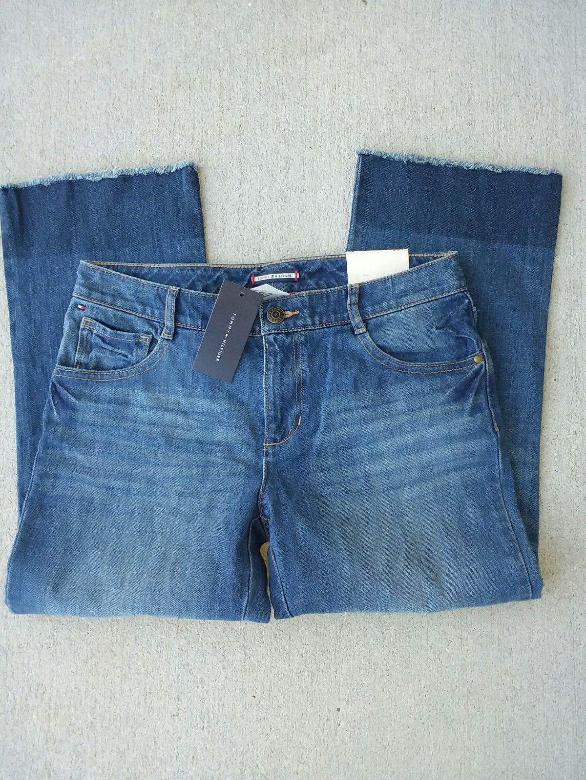 Tommy Hilfiger Girl's Below the Waist Jeans, 16 image 2