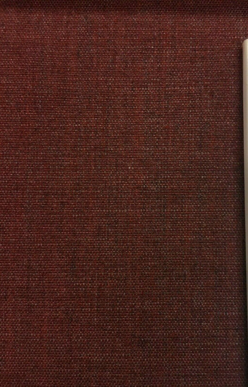 Maharam Upholstery Fabric Canvas Red and Gray Wool 466185 2.5 yds L
