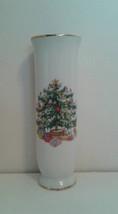 Lefton Christmas bud vase vintage - $18.25