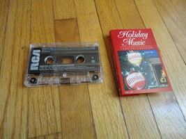 CASSETTE Winston Holiday Music 1992 Collection Christmas Chuck Berry/The... - $2.99