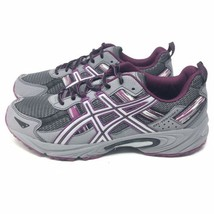 ASICS GEL-Venture 5 Trail Running Shoes Sneakers $119 Women's Sz 11 M Gray - $29.99