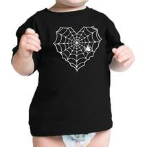 Heart Spider Web Baby Black Shirt - $13.99