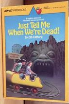 Just Tell Me When We're Dead [Aug 01, 1986] Clifford, Eth