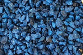 Exotic Mini 4-6mm Blue Beach Pebble Stone Rocks/Polished Pebbles - Terra... - $20.80