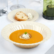 Plastic 12 Oz. Beige Round Soup Bowl/Case of 180 - €73,90 EUR