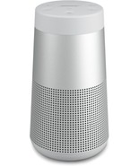 Bose SoundLink Revolve Bluetooth Speaker Lux Silver Gray 360 Sound Brand... - $158.98