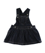 Disney Store Baby Girls Storybook Denim Skirt Overall, 3-6 Months - $19.57