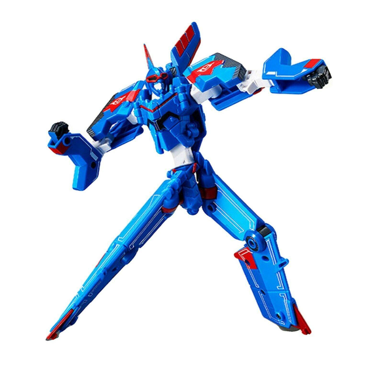 Tobot V Sonic Stealth Action Figure Fighter Plane Transforming Robot Toy